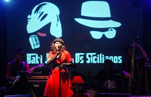 BABI JAQUES E OS SICILIANOS VENCEM PRÉ-AMP 2012