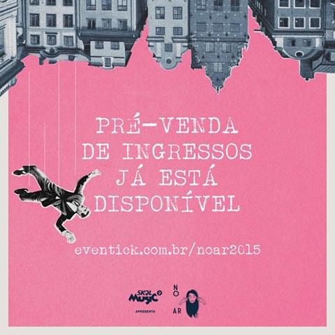 FESTIVAL NO AR 2015 ABRE PRÉ-VENDA DE INGRESSOS