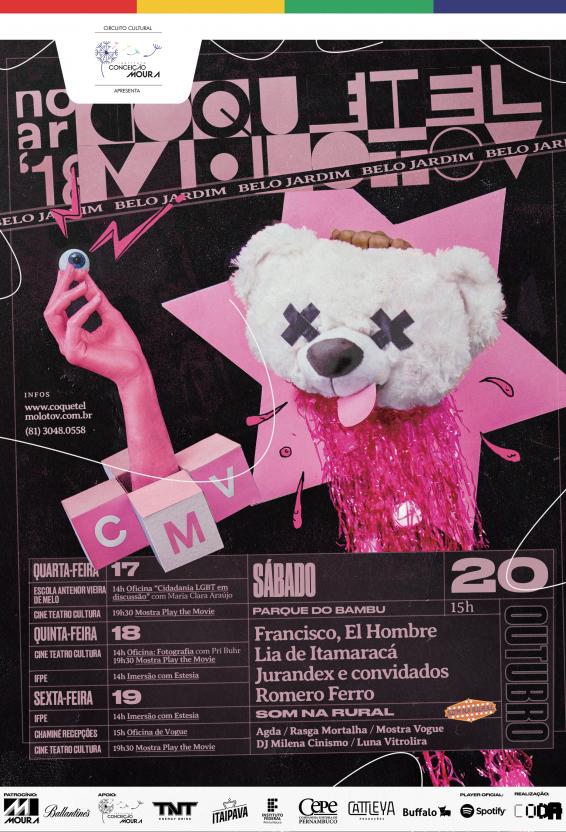 CONFIRA A PROGRAMAÇÃO DO FESTIVAL NO AR - BELO JARDIM EM 2018